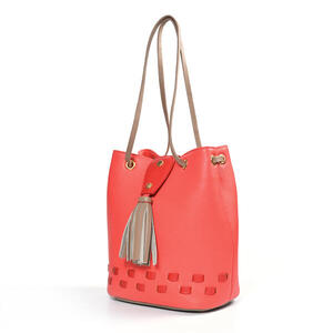 TARA CARTERA CUERO BUCKET LEATHER